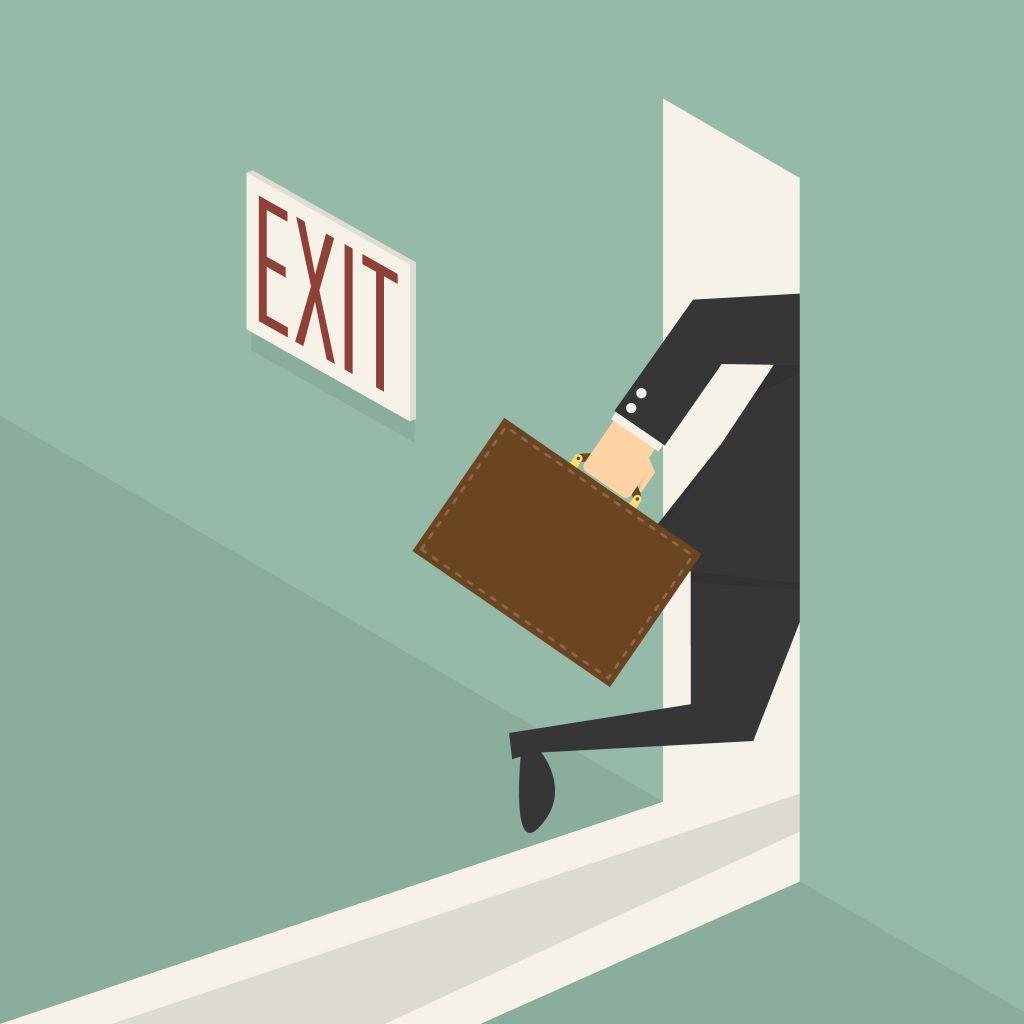 board resignation